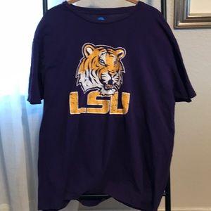 NCAA LSU TIGERS XL Vintage look T-Shirt so soft